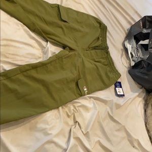 Brand new champion cargo pants olive